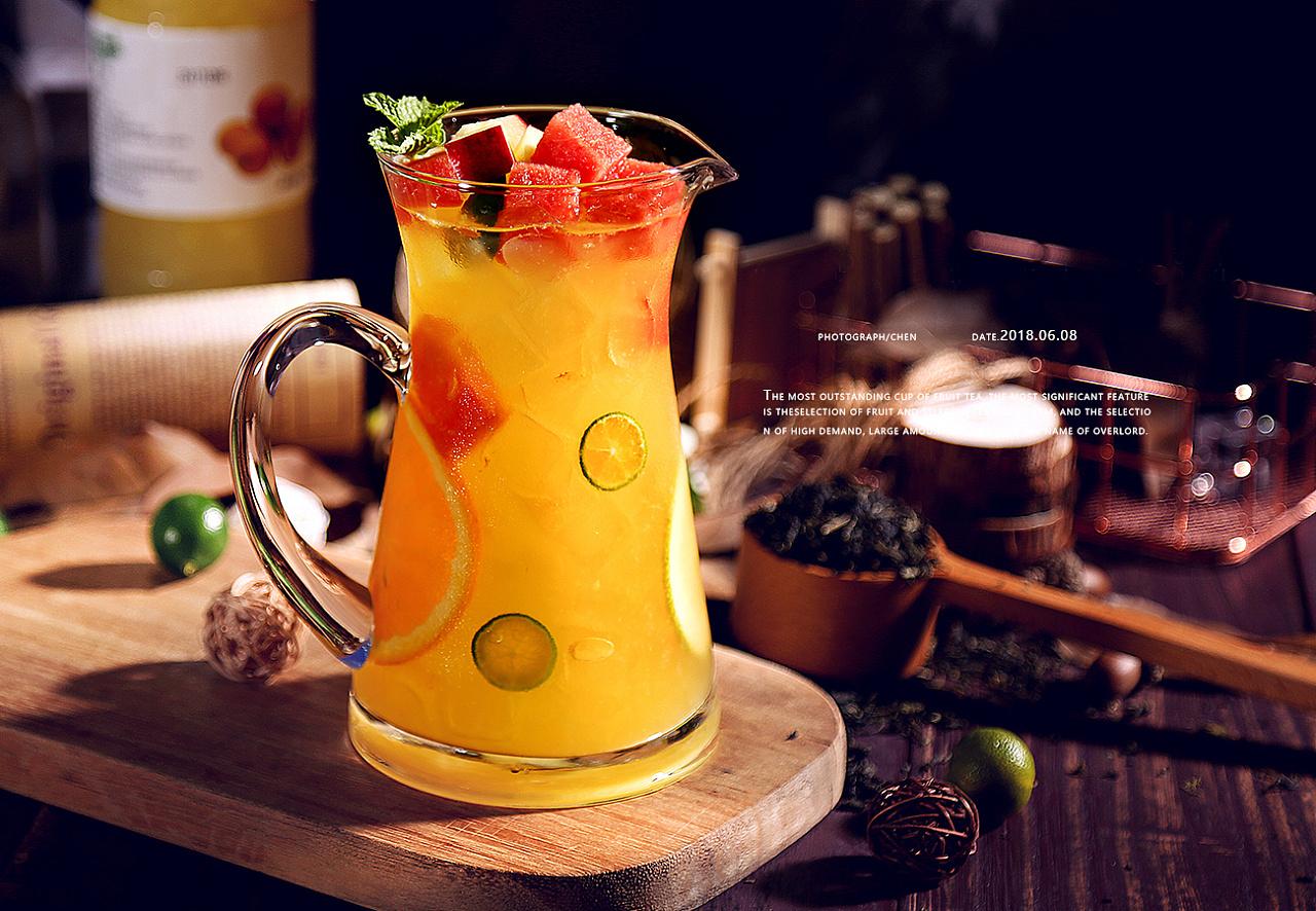 新式网红水果茶配方,给店铺再添一道新品吧