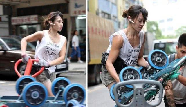 香港最美搬运工女孩:走红后考虑进入娱乐圈,不想再做苦力