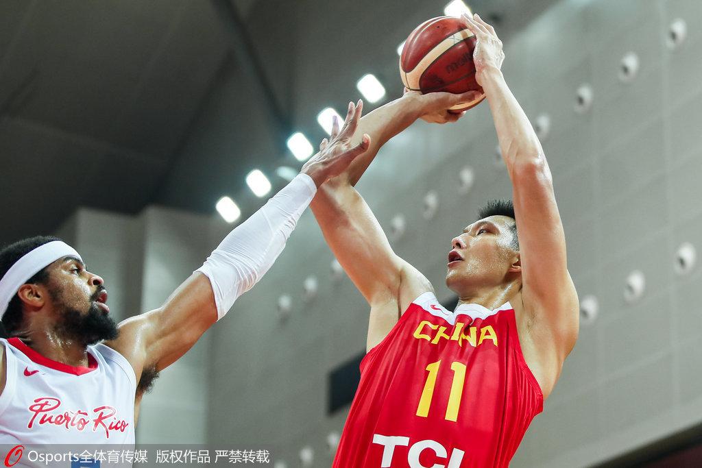 阿联22+8王哲林17分 男篮擒波多黎各3连胜