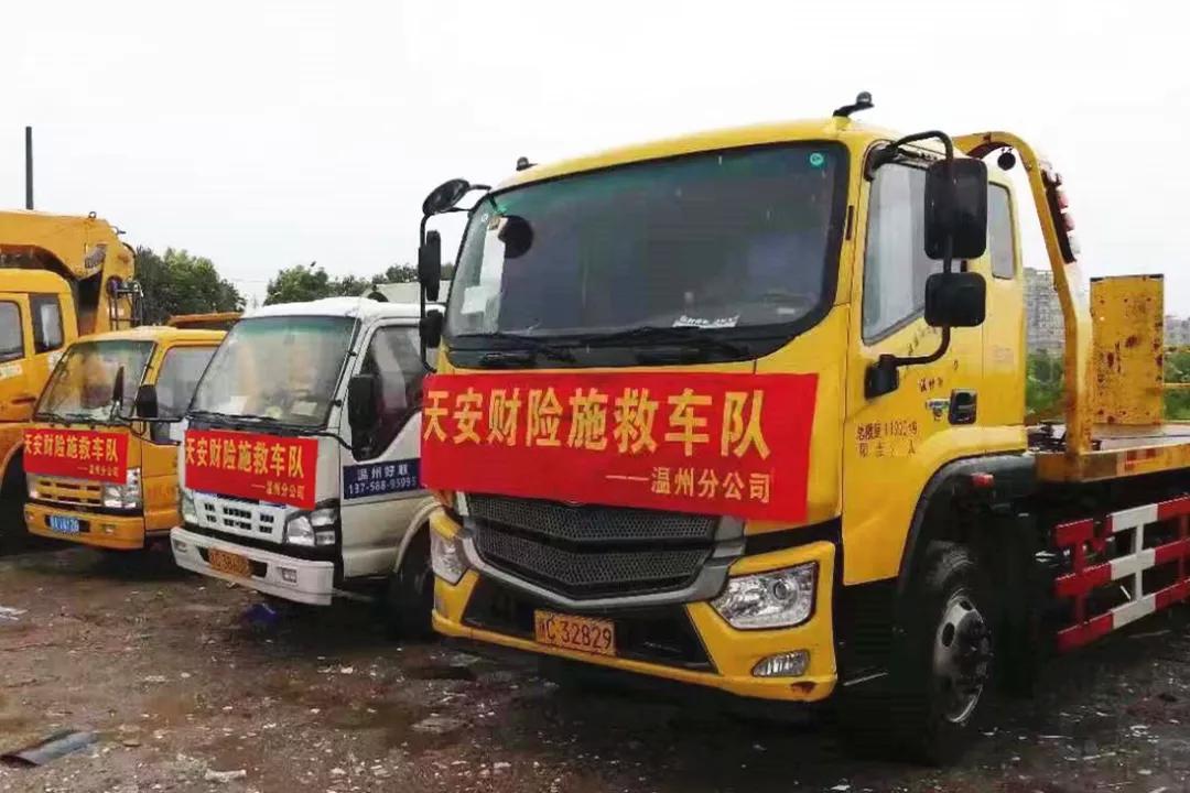 """对抗台风""""利奇马"""" 温州天安财险时刻为您坚守-天津热点网"""