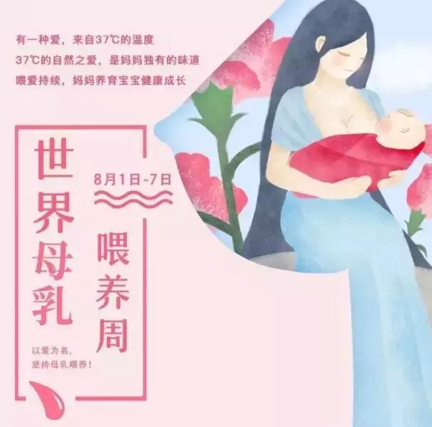 【母乳喂养周】给力父母,成功母乳喂养!
