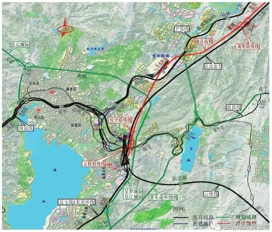 渝昆高铁会泽3个站详细位置卫星图图片