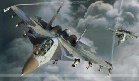 <b>最新战报:俄罗斯出动4架战机开始进攻,美国大批战舰默默围观</b>