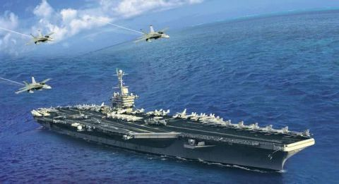 高超音速导弹已出现,根本拦不住,航母无用论再次现身美军