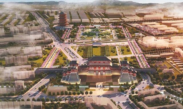 隋朝的 工程师 宇文恺,为隋朝的新都建造做出了巨大贡献