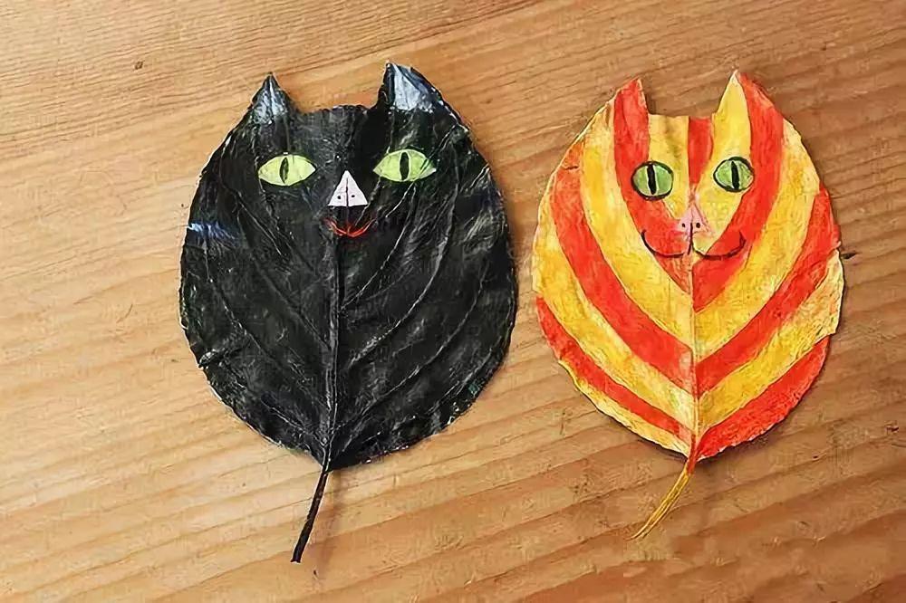 秋季最应景,最好玩的叶子手工,和孩子一起走进秋天