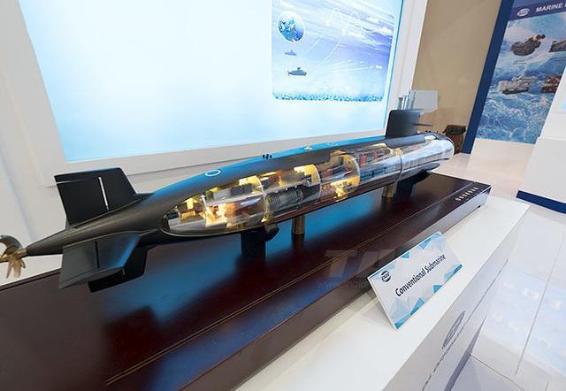排水量1800吨,水下航程可达2000海里,三艘卖了80亿