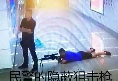 <b>18岁少年南宁地铁站持刀挟持女人质,经劝无效被击毙</b>