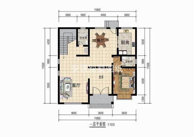 十米十米房子设计图