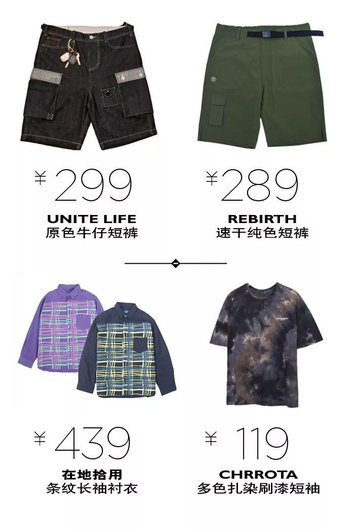 买物教室丨大火扎染+趣味衬衫,两条短裤我全都要!