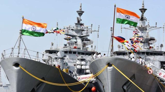 印度再次增』兵!大批军①舰赶赴波斯湾,国旗十分△醒目,俄称局势〓逆转