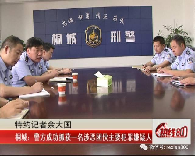 【800警示】安庆警方抓获一涉恶团伙主要犯罪嫌疑人!