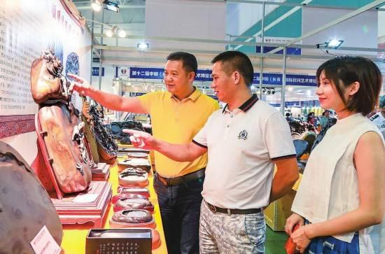 第十二屆中國(長春)國際民間藝術博覽會在長春舉行_馬俊華