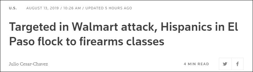 枪击案频发,美国当地民众选择参加枪支训练、持枪自卫
