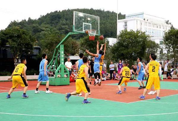 凤冈县公安局男警篮球大赛闭幕