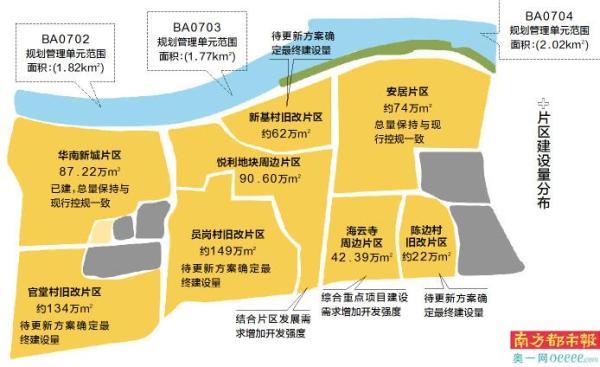 华南板块:至少六村要改造 地块价值提升村民喜