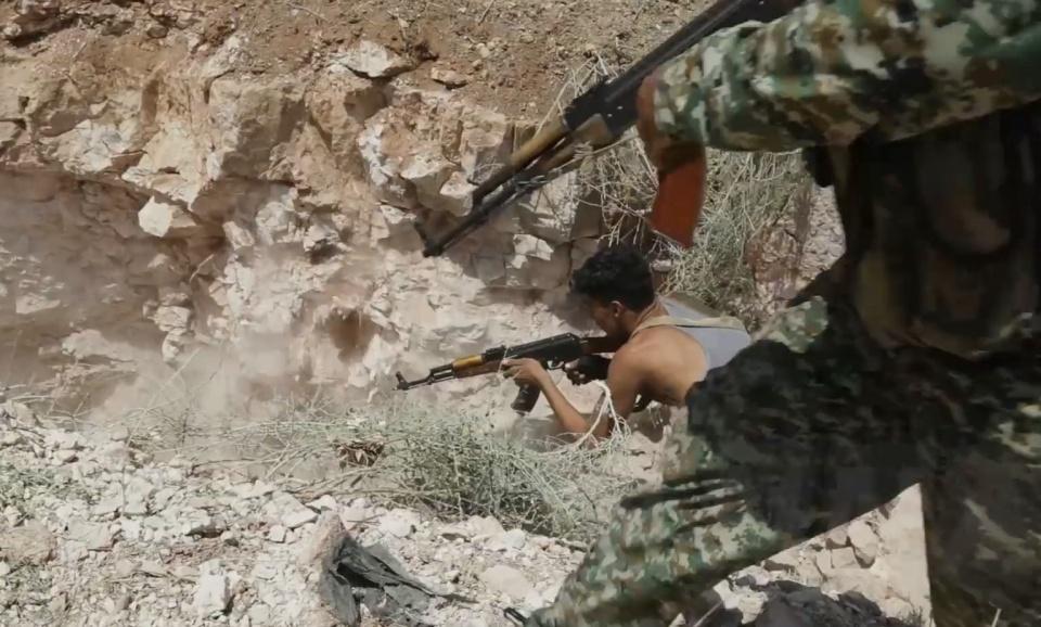 叙利亚发现秘密隧道,内部四通八达,恐怖分子向耗子一样生活