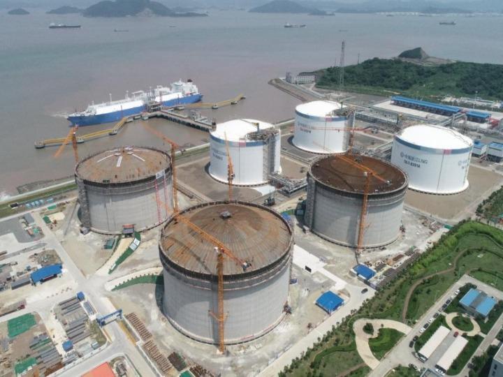 我国液化天然气接收站项目国产化进程加速_浙江