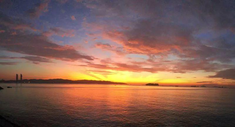 <b>漳州港五点半的日出,你见过吗?</b>