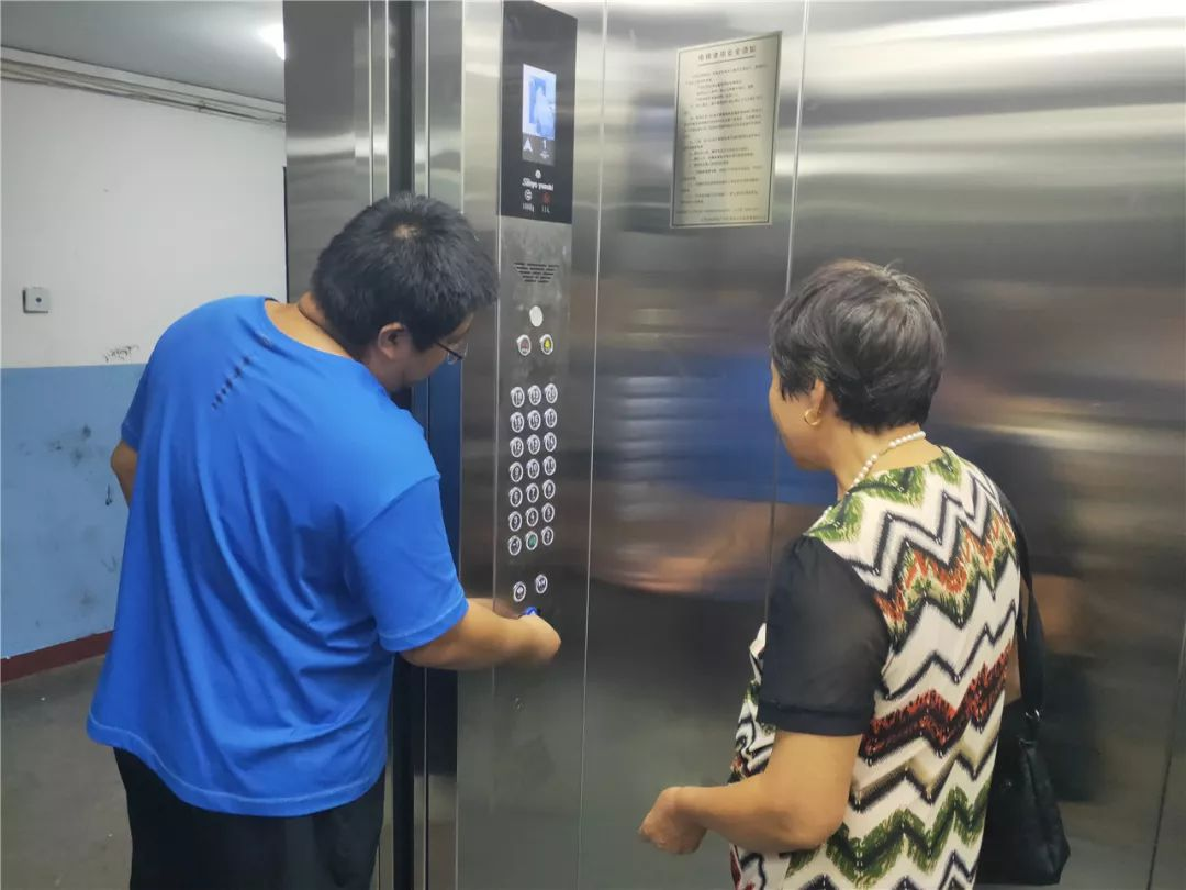 密云区首例居民物业共筹资金更换电梯投入运营!