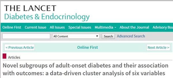 最新研究:也许你的糖尿病类型分错了!