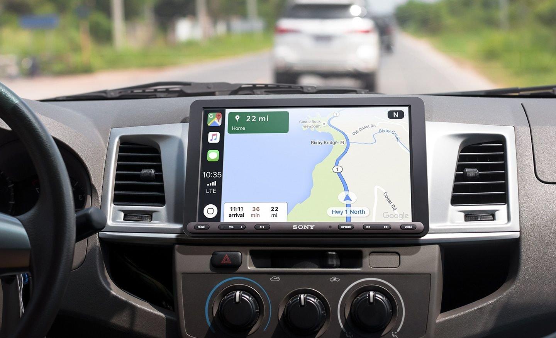 索尼新款车载娱乐系统将上市 9英寸大屏或成亮点