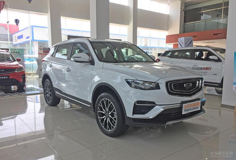 博越PRO推6款车型 于9月5日成都车展上市
