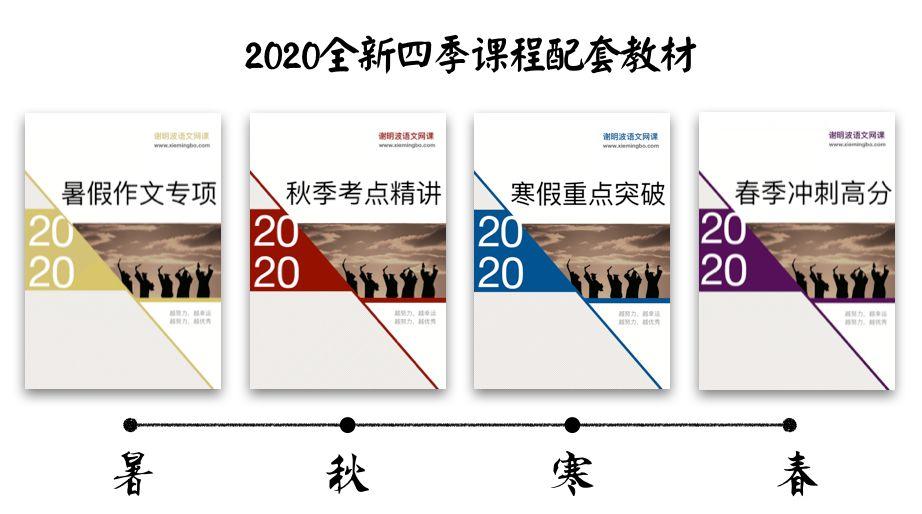 直降800!谢明波2020全新课程体系最后53个优惠名额!