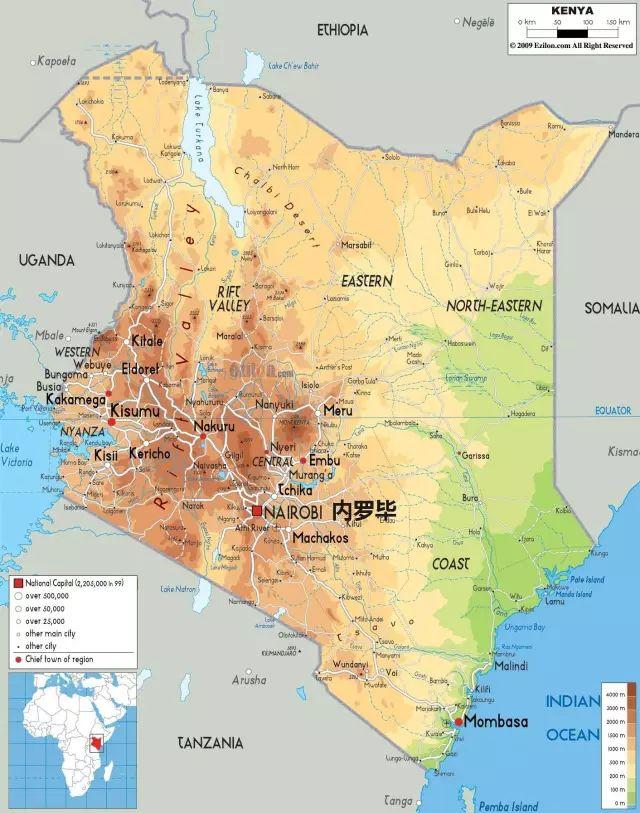 肯尼亚国土面积和人口_肯尼亚是什么意思,肯尼亚用英语怎么说