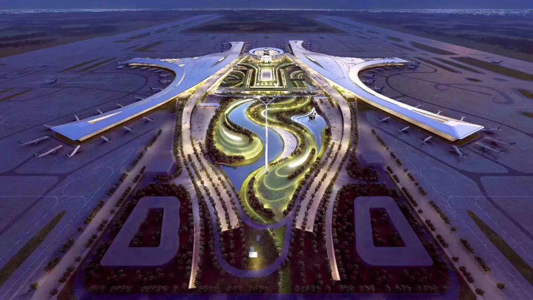 牛!承建60多个机场航站区工程,中建八局妥妥的