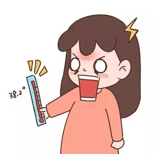儿童发烧时,家长需要注意监测好体温,多观察儿童精神反应等情况.图片
