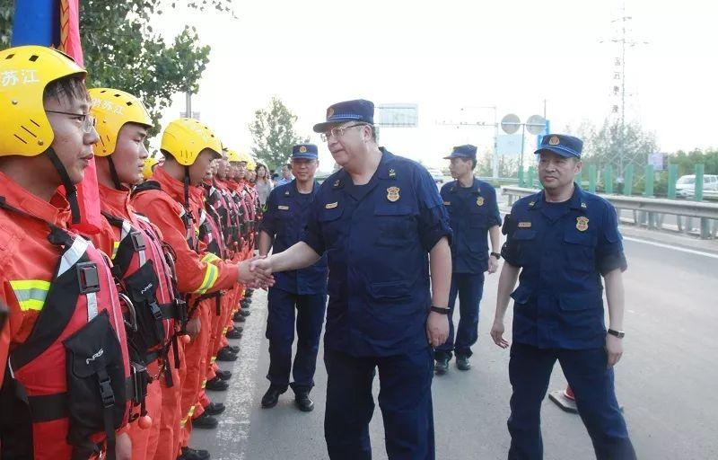 今有徐州消防,筑起沂沭泗水域防汛大堤!