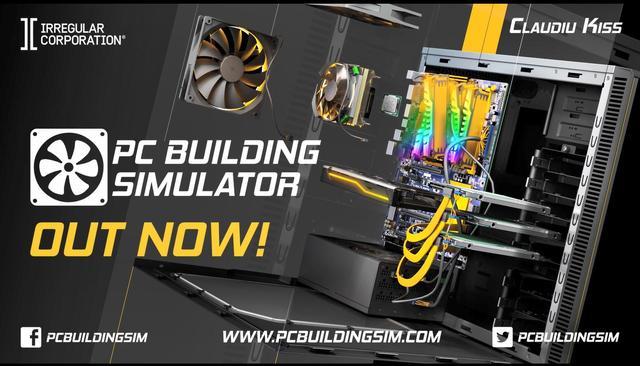 在主机上拼PC《装机模拟器》正式登陆三大主机平台