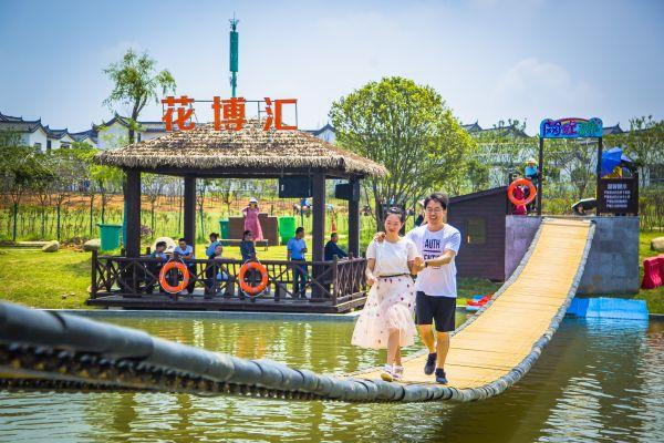 """网红漂流、泼水狂欢、摸鱼钓虾…… 去武汉周边""""嗨""""玩夏天"""