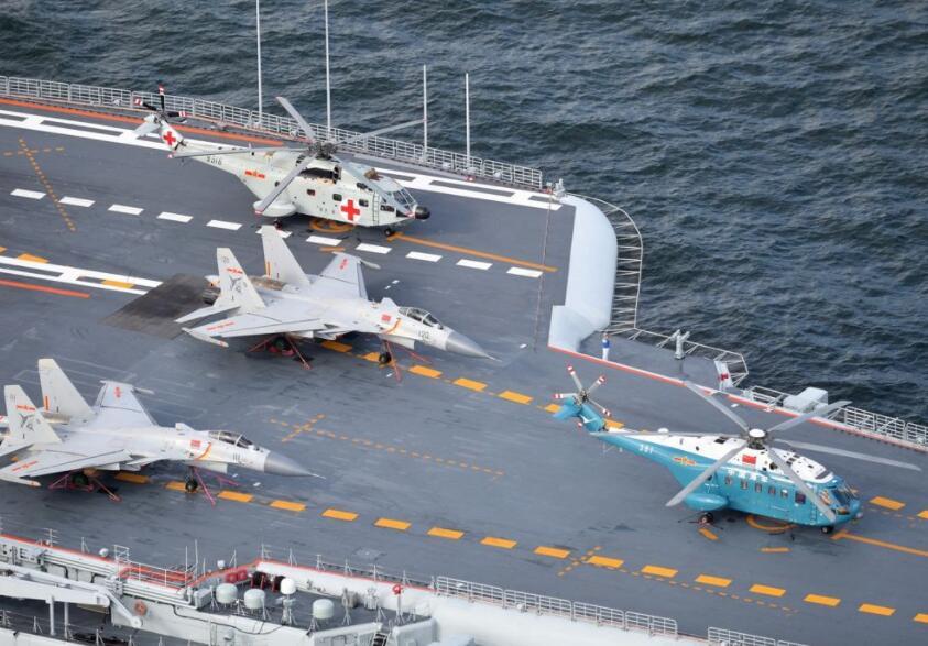 国产航母载机数量公布,超辽宁舰整整一半,全球第二航母宝座易主