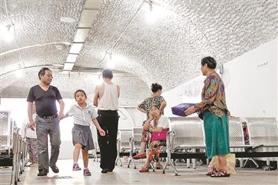 今年全市开放7个防空洞避暑纳凉点 提供更多更优的服务措施