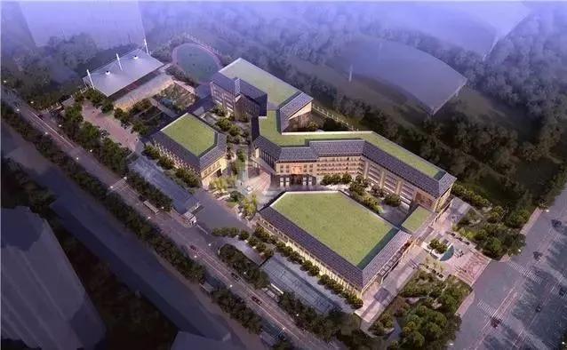 8.六安一中新校区规划流出   占地525亩,6000多人的六安一中   学校规划流出   (市全民健身中心东侧)   地上建筑面积24630平方米,   地下建筑面积16955平方米.