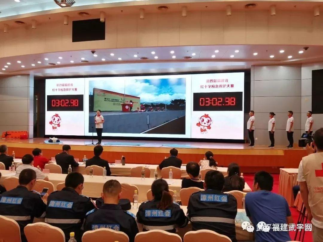 【武平快讯】我县红十字会志愿者参加省红十字应急救护技能大赛获佳绩