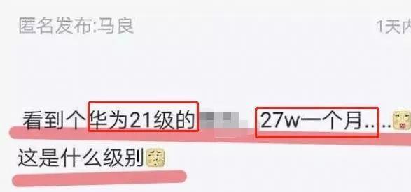 华为21级程序员被问及月薪,说出后,网友:我能加到公司破产