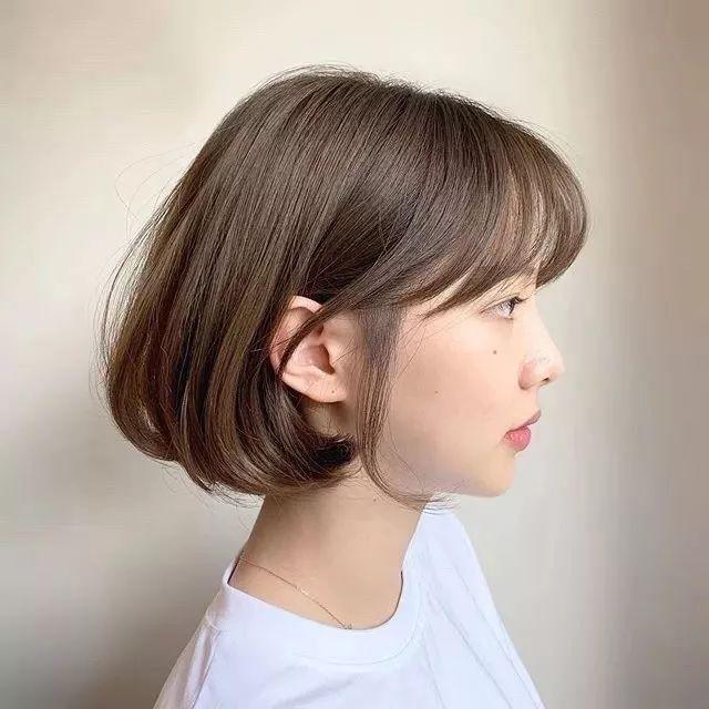 160以下女生短发一定要这样剪,减龄又显瘦!图片