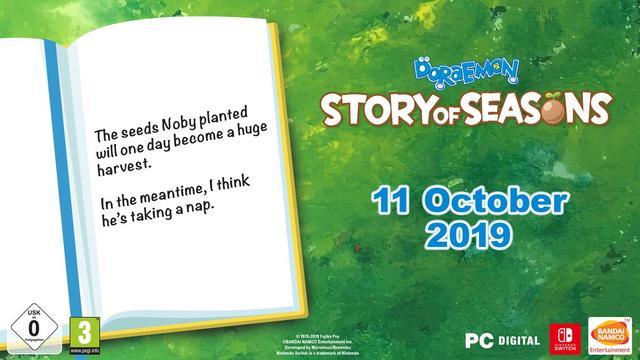 《哆啦A梦 牧场物语》PC版发售时间公布