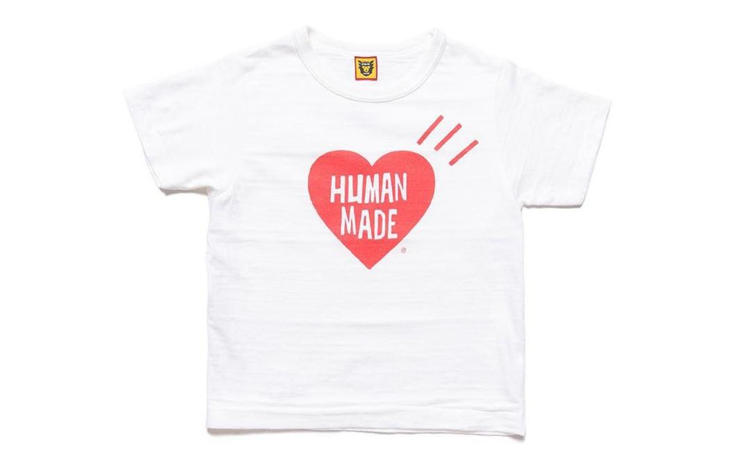 最会做童装的日潮?HUMAN MADE打造儿童专属Kid T恤系列!