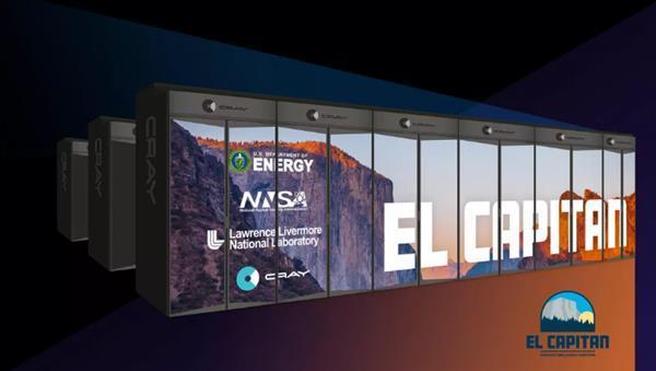 美国开建第三套E级超算El Capitan:150亿亿次性能 加速核武研究