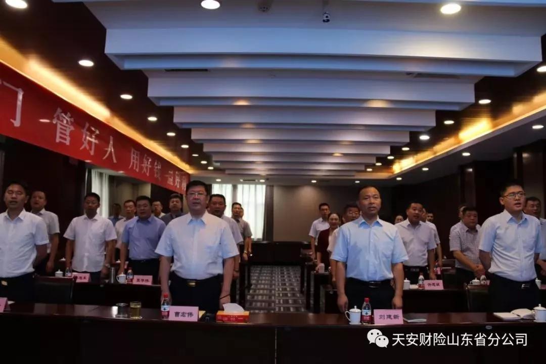 天安财险全辖机构认真贯彻落实总公司2019年年中会议精神(二)插图(1)