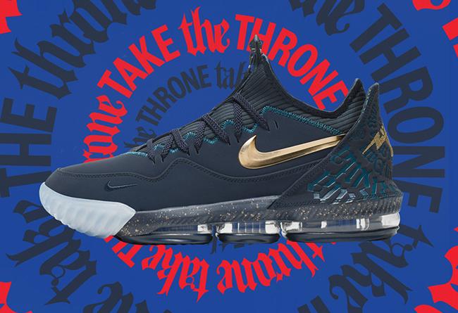 与菲律宾篮球灯塔的第三次合作!这双 Nike LeBron 16 Low 大家冲吗?