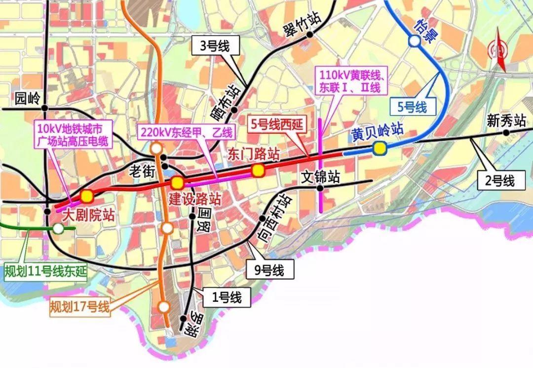 深圳地铁又有新线开工建设 这一次,到你家门口了没