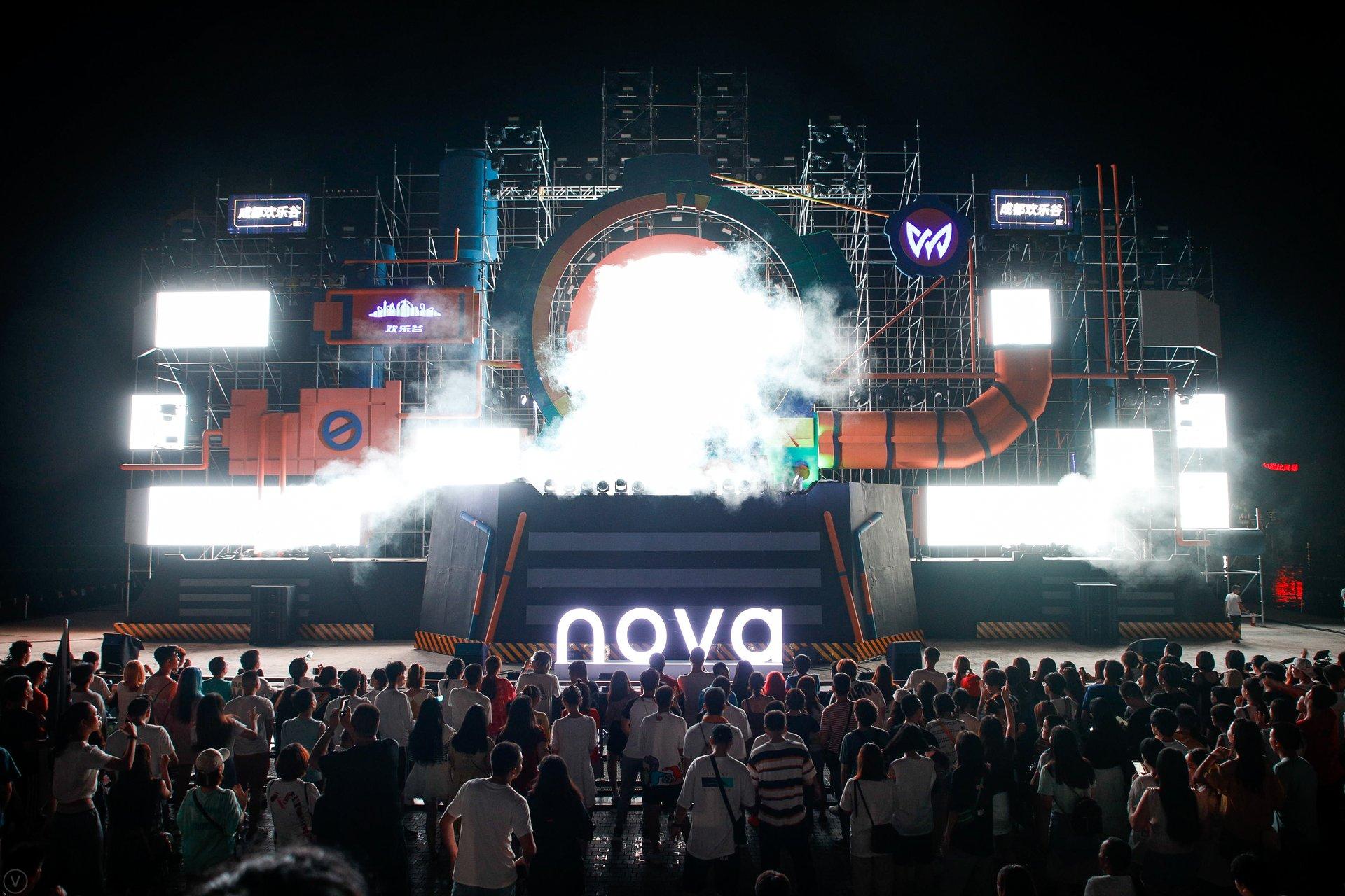 nova掀起夜拍新浪潮,nova游乐园成新地标