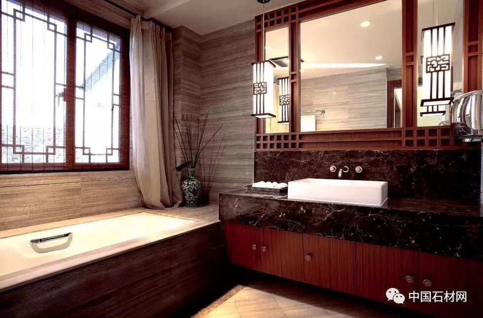 连设计师都排队点赞的大理石卫生间,到底长啥样?