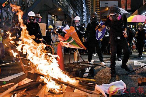 朝鲜再度发声 斥责西方势力为香港暴力分子撑腰!_中国