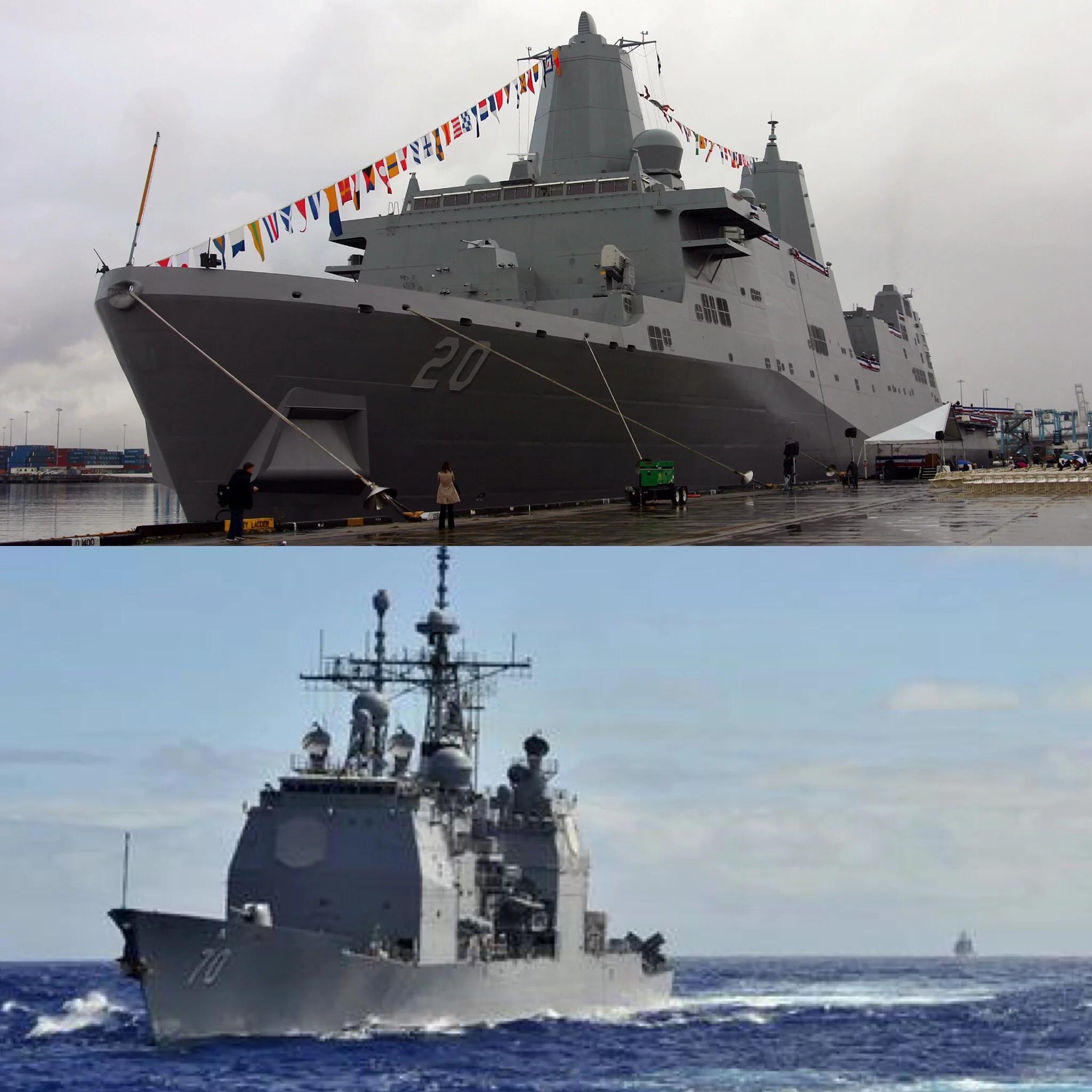 两艘美舰访港被拒